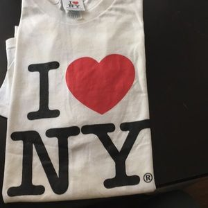 Tops - New without tags. I ❤️ NY graphic s/s t-shirt